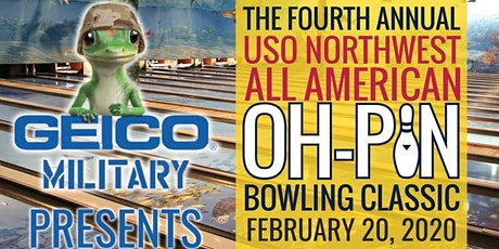 4th Annual USO Northwest All American Oh-Pin Bowling Classic & Family Bowling Night tickets