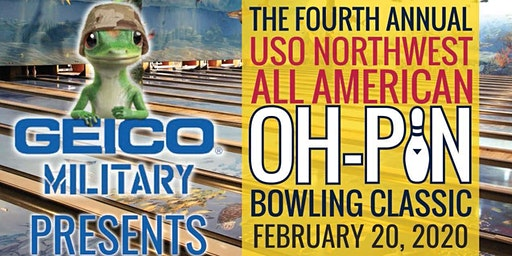 4th Annual USO Northwest All American Oh-Pin Bowling Classic & Family Bowling Night