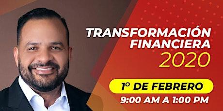 Transformación Financiera 2020 boletos