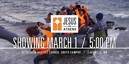 Jesus in Athens At Bethlehem