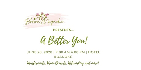 A Better You with 20/20 Vision! tickets