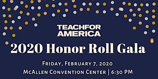 2020 Teach For America Honor Roll Gala