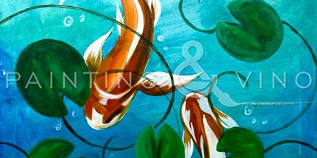 Super Fun Paint Night Event 'Lily Pond' tickets