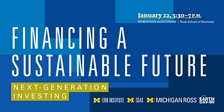 Financing a Sustainable Future: Next-Generation Investing tickets