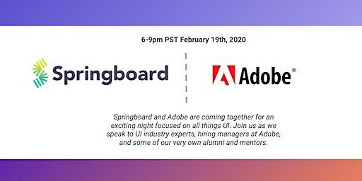 Springboard + Adobe UX/UI Meetup