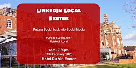 LinkedInLocal Exeter Hotel Du Vin tickets