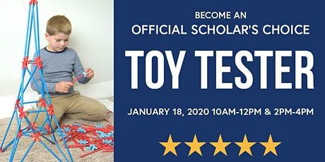 Scholar's Choice Toy Tester Event tickets