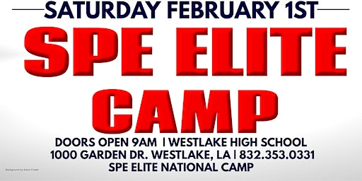 Westlake, LA SPE Elite National Camp