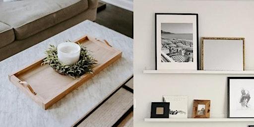 DIY Tray + Shelves