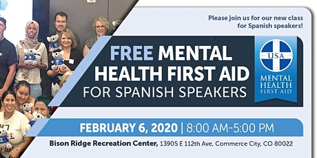 Mental Health First Aid in Spanish (Primeros Auxilios Para Salud Mental) tickets