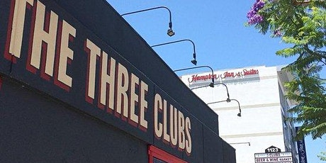 Live at The Three Clubs tickets