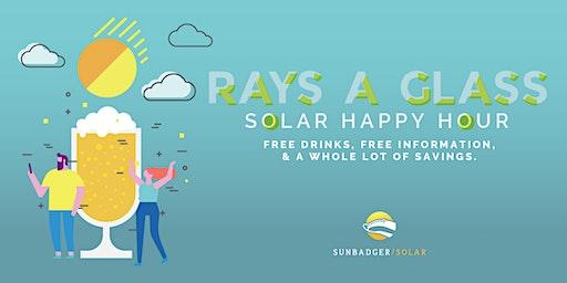 Rays a Glass Solar Happy Hour