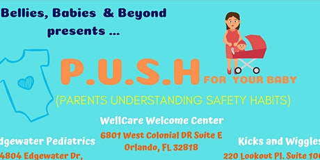 P.U.S.H (Parents Understanding Safety Habits) For your Baby tickets
