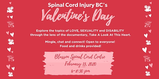 SCI BC Valentine's Day: Love, Sexuality and Disability