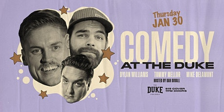 Comedy Night at The Duke | January 30, 2020 tickets