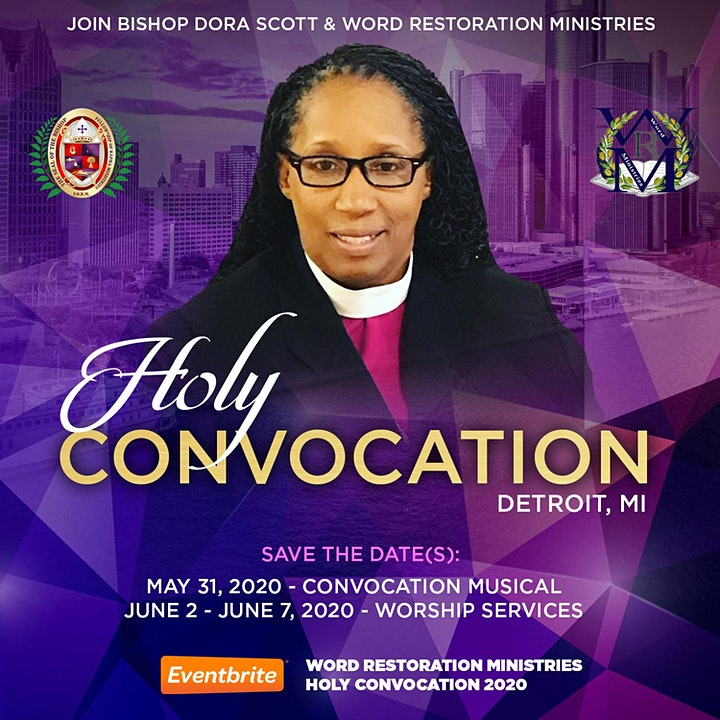 Word Restoration Ministries 2020 Holy Convocation image