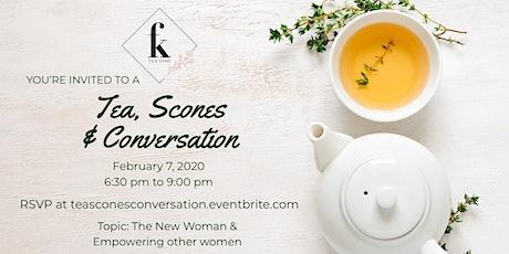 Tea, Scones, & Conversation sponsored by Fanchion K's Teatime (January) tickets