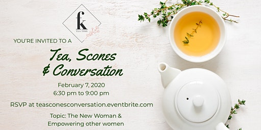 Tea, Scones, & Conversation sponsored by Fanchion K's Teatime (January)