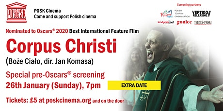 POSK Cinema: Corpus Christi - Sunday, 26th January, 7pm tickets