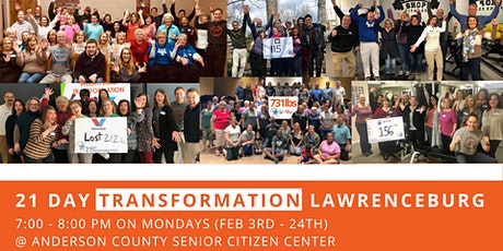 21 Day Transformation - Lawrenceburg (February) tickets