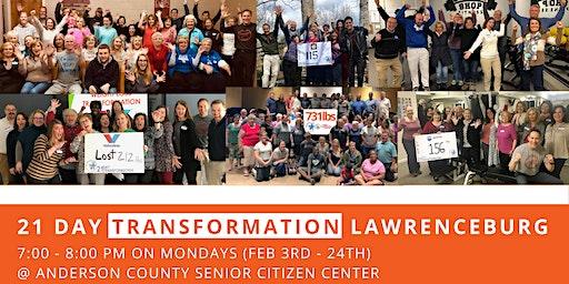 21 Day Transformation - Lawrenceburg (February)