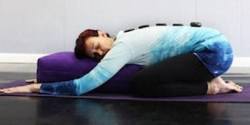 Restorative Yoga Self Care with Hot Stones and Essential Oils