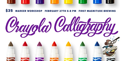 Crayola Calligraphy Workshop