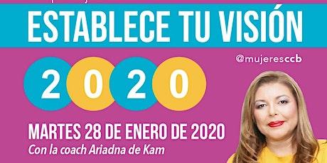 Taller Establece tu visión 2020 entradas