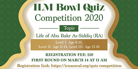 Ilm Bowl - Quiz Competition 2020 tickets