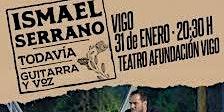 Concierto acústico Ismael Serrano Vigo 31/01/2020 patio butacas fila 6