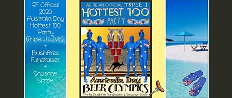 2020 SF OFFICIAL AUSTRALIA DAY HOTTEST 100 PARTY + BUSHFIRES FUNDRAISER tickets