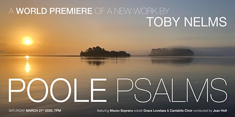 Poole Psalms World Premiere - POSTPONED tickets