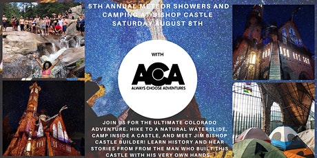 5TH Annual Meteor Showers & Camping at Bishops Castle with ACA tickets