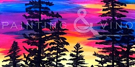 Creative Event 'Twilight Trees' Paint and Sip Class tickets