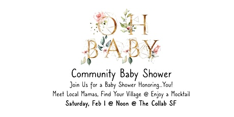 Community Baby Shower! tickets