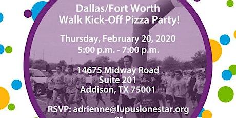 Dallas/ Fort Worth Walk Kick-Off Pizza Party tickets
