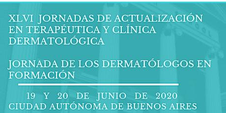 XLVI  JORNADAS DE ACTUALIZACIÓN EN TERAPÉUTICA Y CLÍNICA  DERMATOLÓGICA entradas