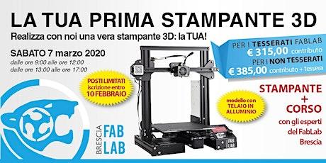 Costruisci la tua STAMPANTE 3D biglietti
