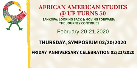 African American Studies 50th Celebration @ UF tickets