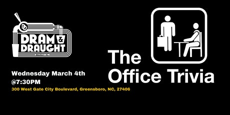 The Office Trivia at Dram & Draught tickets