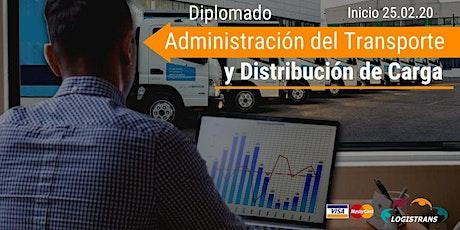 Diplomado en Administración del Transporte 25.02.2020 entradas