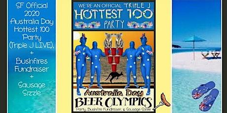 2020 AUSTRALIA DAY SF Official Party + Bushfires Fundraiser. Triple J Live tickets