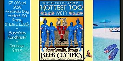 2020 AUSTRALIA DAY SF Official Party + Bushfires Fundraiser. Triple J Live
