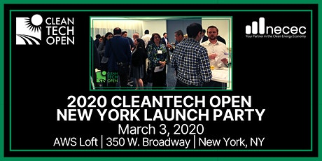 2020 Cleantech Open New York Launch Party tickets