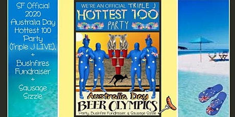 FRIDAY 1/24/20: Australia Day San Francisco Party + Bushfires Fundraiser tickets
