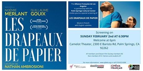 Alliance Française Film Night: LES DRAPEAUX DE PAPIER tickets
