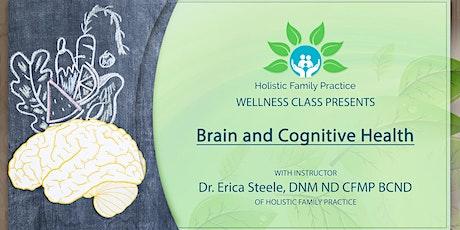 Brain & Cognitive Health tickets