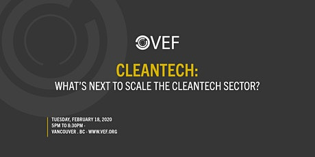VEF: Cleantech tickets