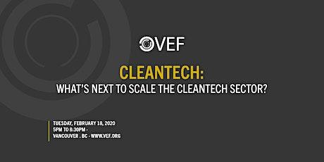 VEF: Cleantech tickets