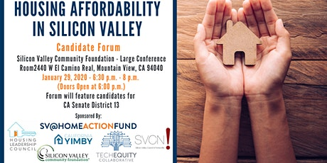 Housing Affordability in Silicon Valley: Candidate Forum Series #8 tickets